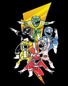 Mini Morphin' Power Rangers