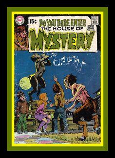 Horror comicbook cover.