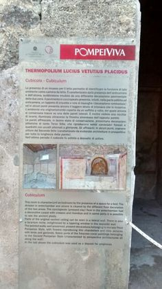 Thermopolium / Pompei - Scavi IT 01/2016