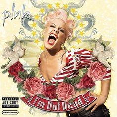 pink album cover