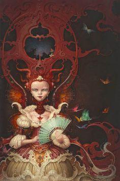 painting by Daniel Merriam