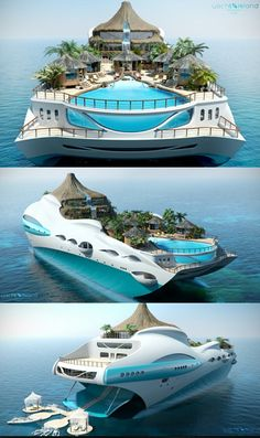 The super yacht that comes with its own VOLCANO: Multi-million pound boat which…