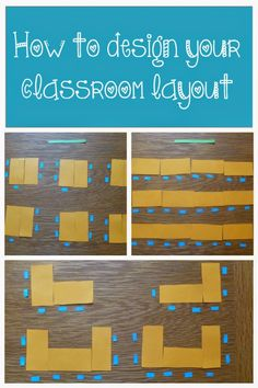 Classroom layout has such a big impact on the students' experiences and learning in the classroom.