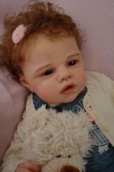 Reborn baby doll Angelina by Romie Strydom