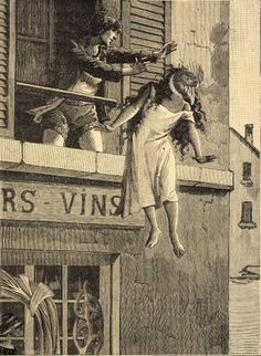 Collage by Max Ernst from Une Semaine de Bonté (A Week of Kindness) http://darksilenceinsuburbia