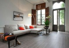 Ethnic Wenge 28282 - Wood Effect Luxury Vinyl Flooring - Moduleo