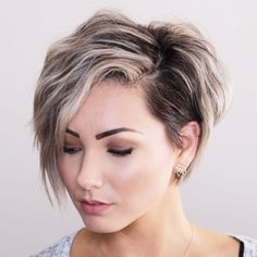 Likes, 36 Comments – Short Hair Pixie Cut Boston … - Meine Frisuren Girl Short Hair, Short Hair Cuts, Pixie Cuts, Blonde Short Hair Pixie, Short Hair Undercut, Blonde Hair, Shot Hair Styles, Curly Hair Styles, Pixie Hairstyles
