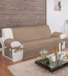 protetor para sofa de 4 lugares c/ lacos assento de 2,20m lu