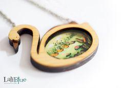 Le collier de vilain petit canard. / Le collier de par LaliblueShop