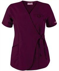 Butter-Soft Scrubs by UA� Women's 3-Pocket Wrap Top