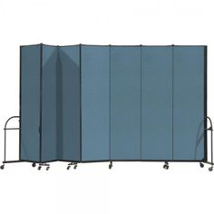 HEAVYDuty Room Dividers are perfect for industrial and commercial use. These room dividers are built to withstand the rigors found in the hospitality and other challenging applications.  3, 5, 7, 9, 11 or 13 panel systems available.