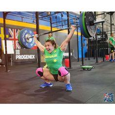 Kara Webb. Team Australia. 2014 CrossFit Invitational. www.progenex.com.au
