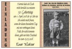 Einladung Zum 50 Geburtstag Lustig