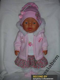 В моих других объявлениях есть в наличии, Одежда для кукол ручной работы!!! Для кукол Baby Born, Nancy и других кукол на рост 36-48 см, можно учесть ваши пожелания и подогнать на вашу куклу.