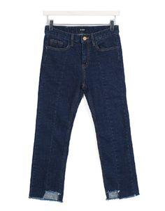 기모절개스트레이트,pants