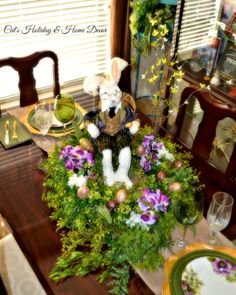 Victorian Easter@ Cat's Holiday & Home Decor