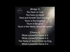 Hillsong Worship - What A Beautiful Name Lyrics Video