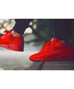 premium selection 35174 a5cb5 Cheap Nike Air Max 90 Hyperfuse Independence Day Red Trainers