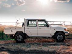 Toyota Land Cruiser 70 Series gets upgrade Toyota 4x4, Toyota Hilux, Landcruiser 79 Series, Latest Cars, Vintage Trucks, Amazing Cars, Toyota Land Cruiser, Offroad, Jeep