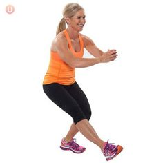 Do pistol squats in your living room for a equipment-free exercise that targets your glutes, quads and hamstrings!