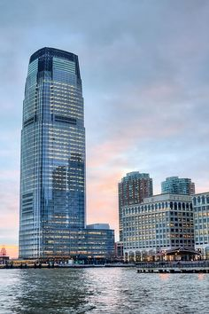 The Goldman Sachs Tower at 30 Hudson Street in Jersey City is the tallest building in New Jersey.