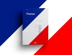 For the UEFA EURO 2016 competition, Sean Ford released these simple, flat and minimal poster series