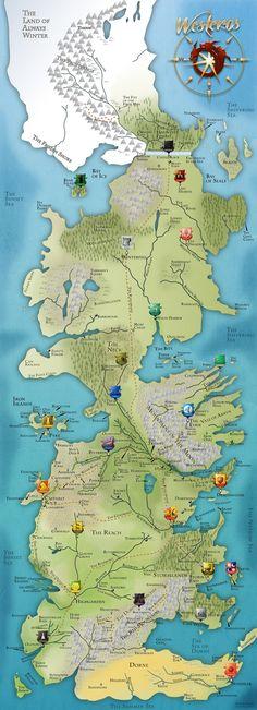 GOT Westeros Map