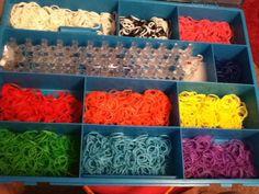 Rainbow looms are a blast!!