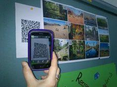 Actividad a través de códigos QR muy interesante para trabajar la cultural, entre otros, en el aula.