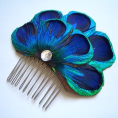 This is so pretty! Maybe a bridesmaid option, if we go with the blue/green color scheme?