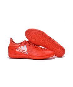 check out 32dcd b029c Adidas X 16.3 Indoor Muži Kopačky Červená Stříbro