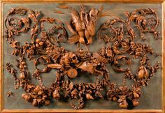 Grinling Gibbons (1648 – 1721) was born in Holland to British parents, and is thus sometimes called a Dutch-British artist; educated largely in the Netherlands, he spent his working life in England. Description from benedante.blogspot.com. I searched for this on bing.com/images