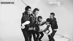 gif... Seungri getting dropped by the other Bigbang members XD >>>>> sol pushed him look