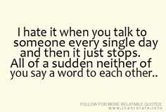 I hate it yet, it happens all the time! I never once have bff :(