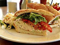 Fresh Chicken Salad Sandwich