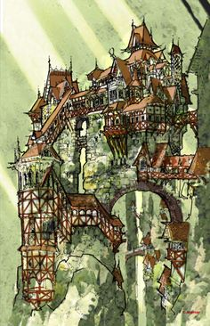 crazy house castle thing