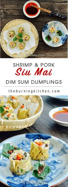 Make your own Siew Mai (Shrimp and Pork Dumpling)! This all-time favourite Dim Sum dish is healthy, tasty and easy to make! Wrap our versatile meat mix stuffing recipe with wonton skin, top with fresh shrimp roe and pop into the steamer for a quick snack!