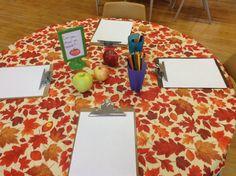 invitation to create using apples