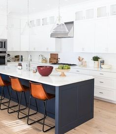 You know I love a bright, clean kitchen...but I love them even more when we add warmth with great styling! See how you can get the look on the blog and shop the lights and accessories at #mcgeeandco! ❤ #covestreetproject