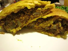 Curry Seitan Jamaican Patties