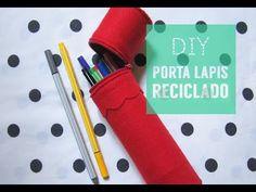 ✂ DIY Estojo Reciclado/Recycled Pencil Case