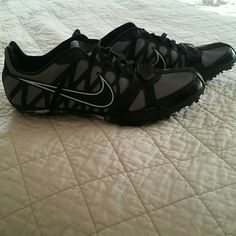 Nike Track Spikes These are sprinting spikes that are almost like new. The size is 7.5 but run about a size smaller. Nike drawstring bag, spike wrench, and spikes are included. Nike Shoes Athletic Shoes