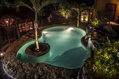 Cascade Pool 1 / Landscaping design by Afshin Eighani / Atelier Creative Studio / El Salvador