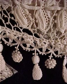 vintage irish lace, with a couple of unusual elements