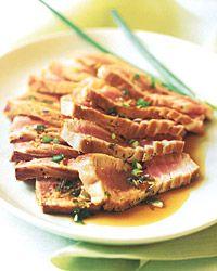 Korean-Style Seared Tuna