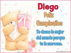 Feliz Cumpleaños para ti Diego