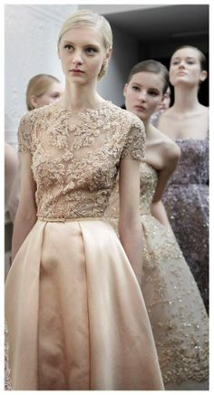 ELIE SAAB Spring 2013 Haute Couture - Behind The Scenes #ElieSaab #HauteCouture #Couture #Paris