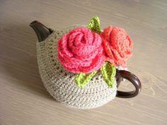 ❥Knit & Crochet Tea Cosies, Mug Hug Snugs and Cuppa Cosies.   #