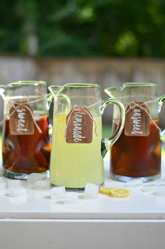 Wooden Beverage Labels/ Aimee Broussard for Silhouette Blog