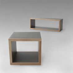 Custom Coffee Tables by Jason Scott Conway - www.nookdesign.ca